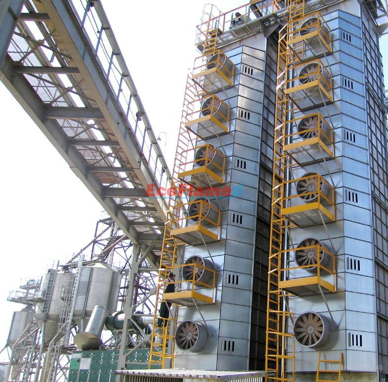 Реконструкція зерносушарок ДСП-32 з переведенням на пічне паливо
